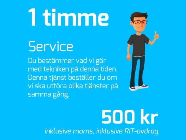 IT-Fixarna Snabbservice (1h)