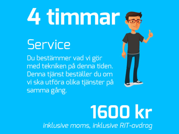 IT-Fixarna Halvdag (4h)