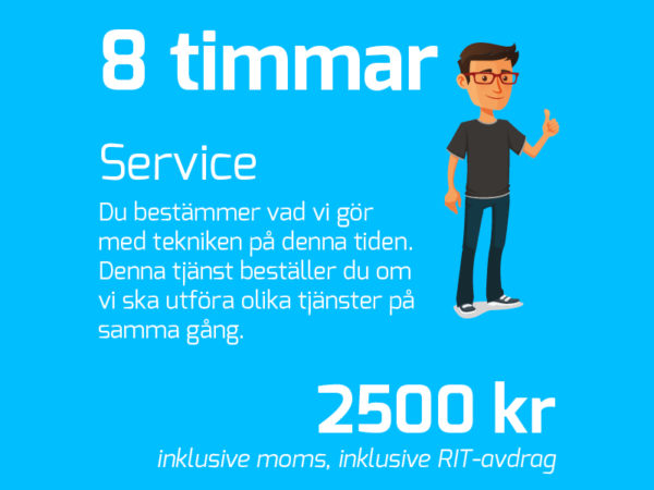 IT-Fixarna Heldag (8h)